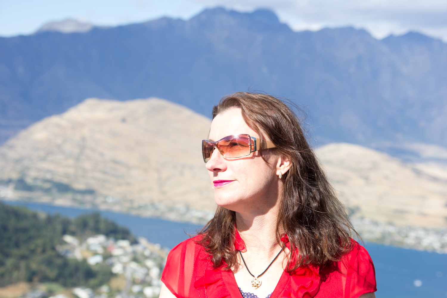 Claire in Queenstown 2013, two years after I lost all that weight.